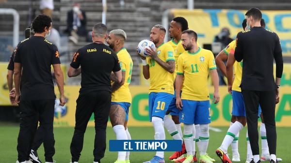 ¿Por qué las autoridades de Brasil pararon el partido contra ...