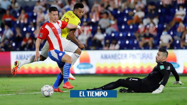 Paraguay vs. Colombia, en vivo: la Selección iguala 1-1 con el local