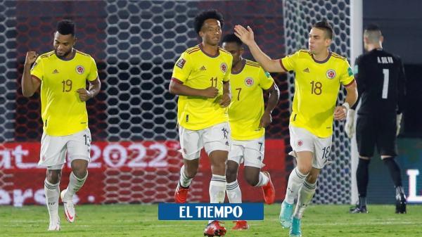 Colombia vs. Chile: estas serían las formaciones titulares
