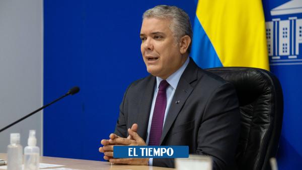 Duque invita a convocar a elección presidencial libre en Venezuela