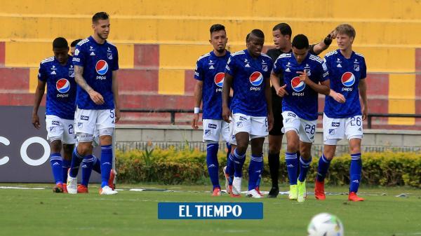 Millonarios logra vibrante victoria en su visita a Bucaramanga: 3-4