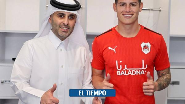 James Rodríguez cuenta si debutará este sábado con Al-Rayyan