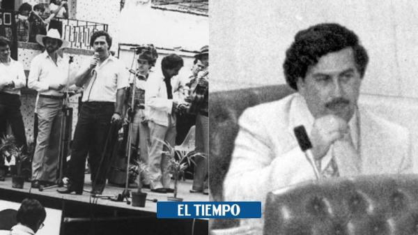 Del sicariato barrial al Congreso: la oscura vida política de Pablo Escobar