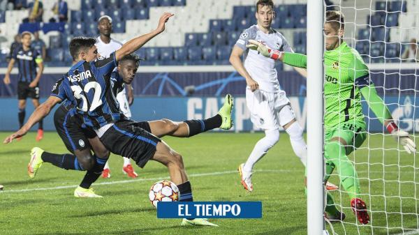 Duván Zapata: figura en el triunfo de Atalanta sobre Young Boys