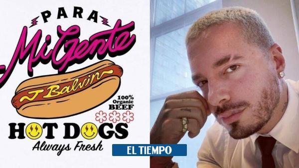 J Balvin aprovecha polémica con Residente y saca línea de ropa 'hot dogs'