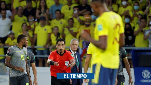 Colombia vs. Ecuador: los audios del VAR en todas las jugadas