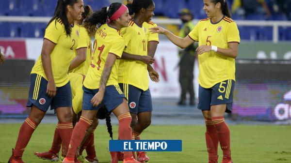 Vea los goles de la Selección Colombia femenina contra Chile
