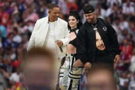Nicky Jam y Will Smith sorprenden en el cierre de Rusia 2018