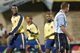 Colombia vs.  Argentina in 1999