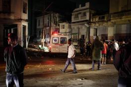 Destrucción en Cuba por tornado