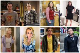 Protagonistas de The Big Bang Theory