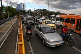 Congestión vía Cali-Jamundí