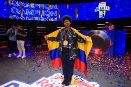 MARITHEA ES LA CAMPEONA COLOMBIANA DE RED BULL BATALLA 2021