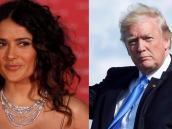 Salma Hayek recordó el día en que Donald Trump quiso salir con ella