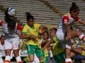 Santa Fe venció 1-2 a Huila y acaricia el título de la Liga femenina
