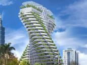 Construyen un edificio en Taipéi que se alimenta de CO2