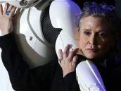 Actriz Carrie Fisher murió por apnea del sueño