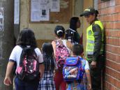 Estudiantes de la comuna 8 de Medellín no pueden ir a clases