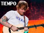 Entrevista al músico británico Ed Sheeran, quien cantó en Bogotá