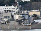 Siete desaparecidos al chocar un destructor de EE. UU. en Japón