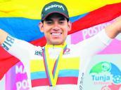Edwin Ávila fue segundo en el Tour de Corea