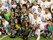 La celebración de la estrella 16 de Atlético Nacional