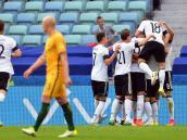 Con pie firme, Alemania debutó con victoria 3-2 frente a Australia