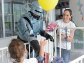 Los 'superhéroes' del hospital San Jorge en Pereira