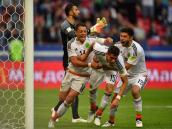 México, por su primer triunfo en Confederaciones contra Nueva Zelanda