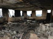 Así quedó por dentro el edificio que se incendió en Londres