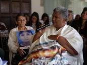 Siga el homenaje a la comisionada de la verdad Ángela Salazar