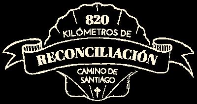 820 kilómetros de reconciliación, Camino de Santiago