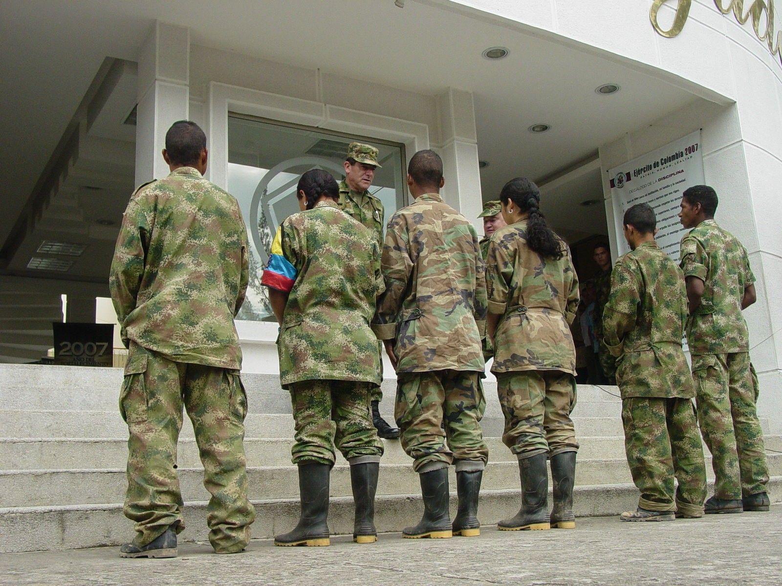 Siete menores de las Farc salieron de las zonas veredales