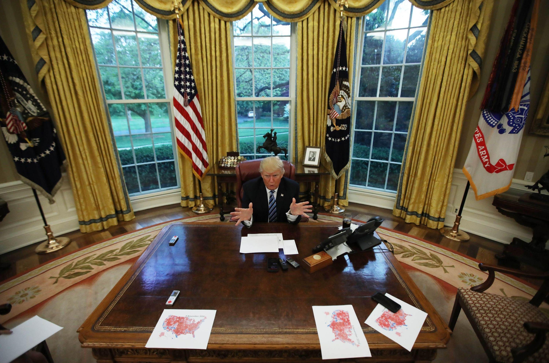Trump ha pagado la novatada en sus 100 días en la Casa Blanca