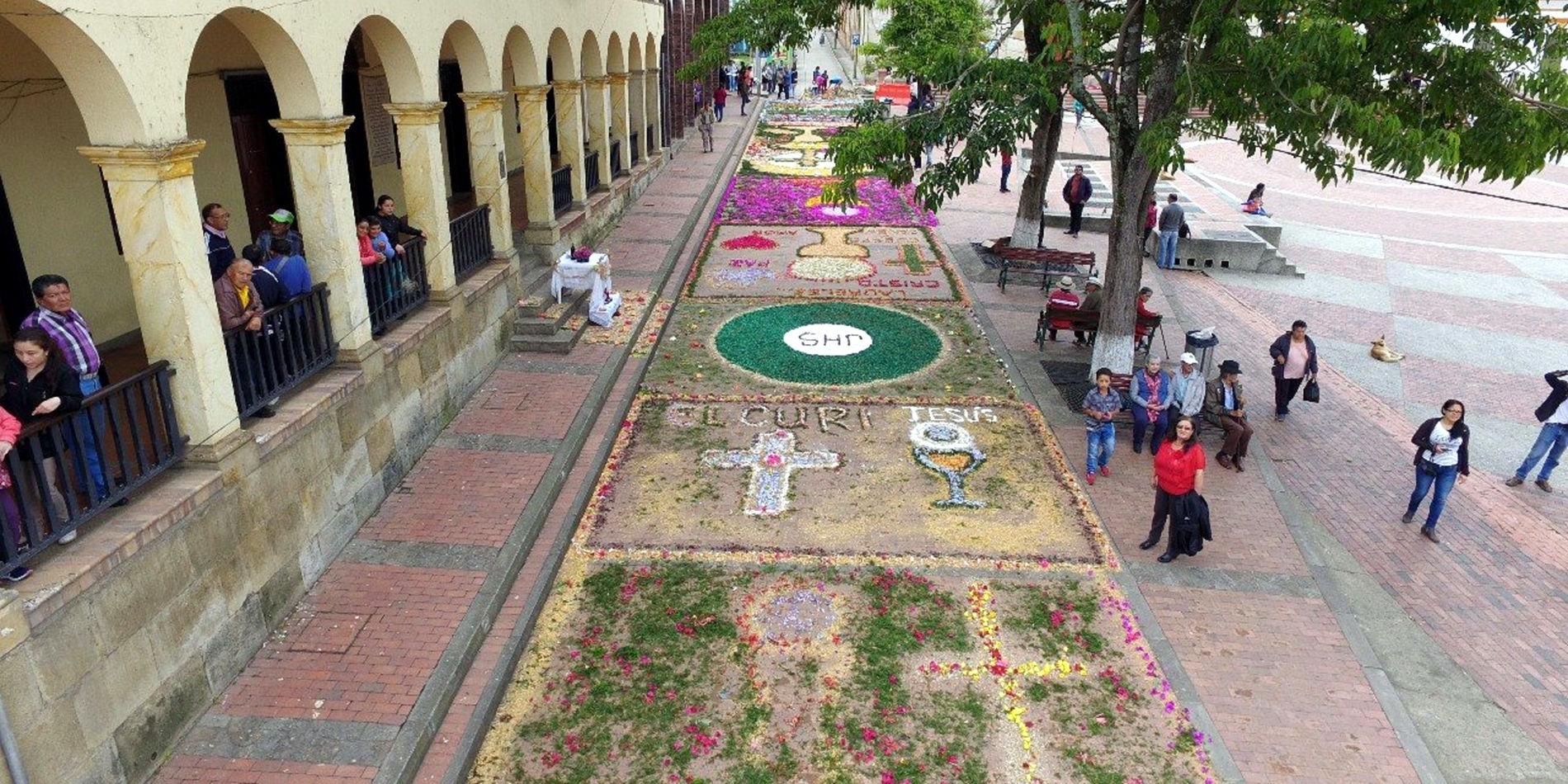 Creativo Corpus Christi en municipios de Cundinamarca - ElTiempo.com