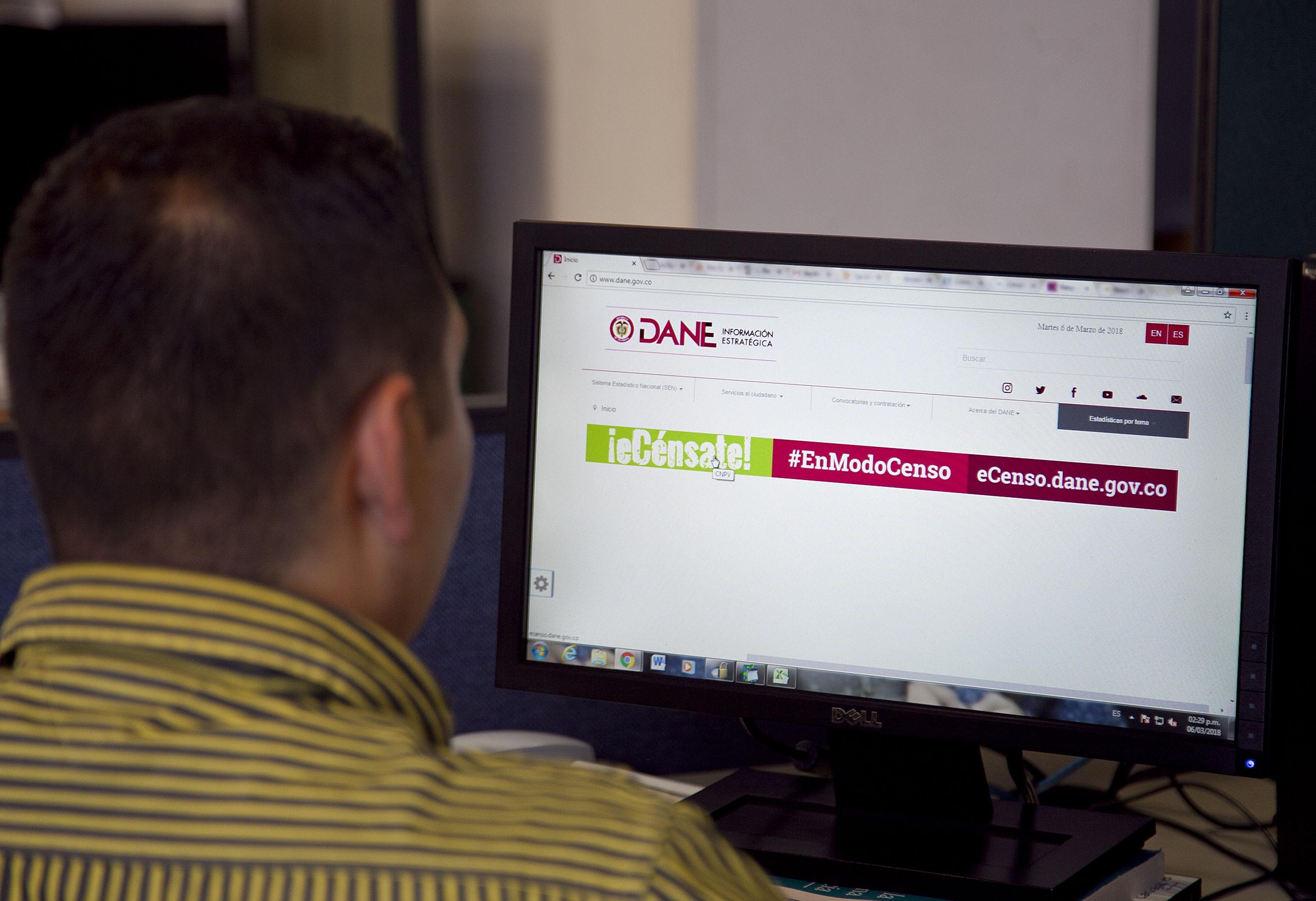 Lo que hizo el Dane para estabilizar la plataforma eCenso ...