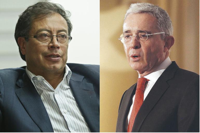 'No se incomode senador porque examinen su vida', Uribe a Petro