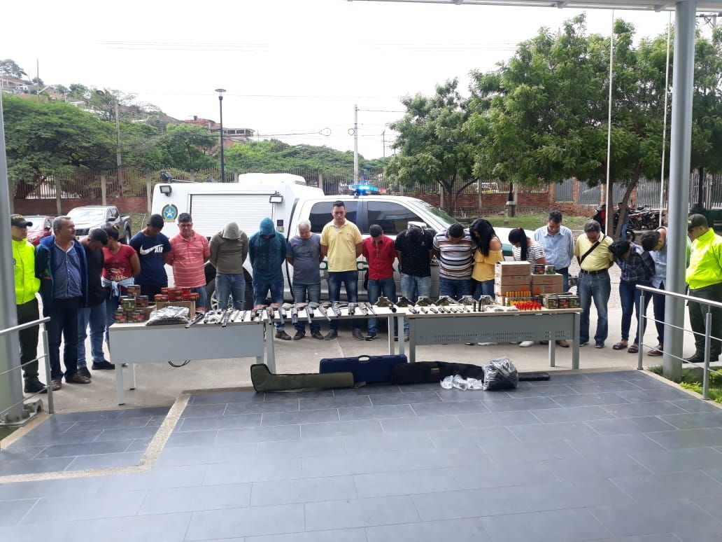 Desarticulan dos bandas en Norte de Santander por fabricar armamento