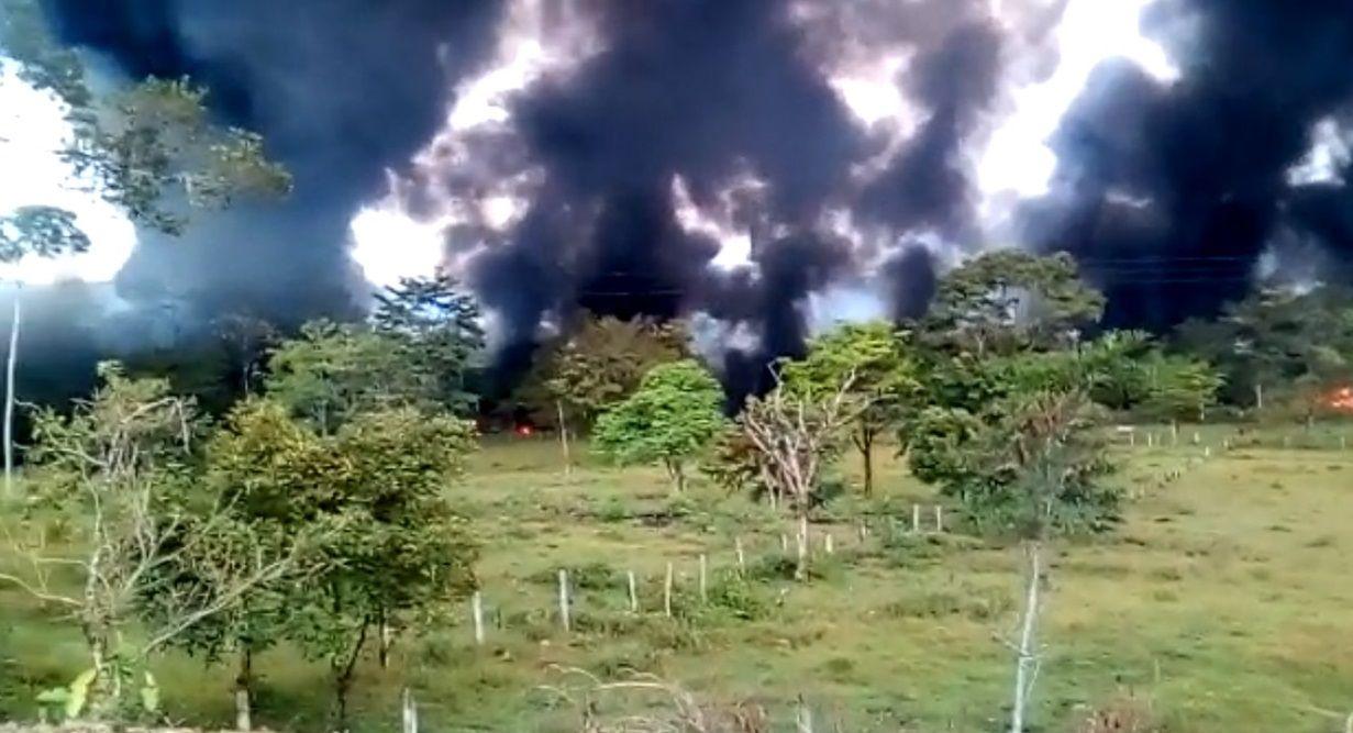 Atentado al Caño Limón desata grave emergencia en Boyacá