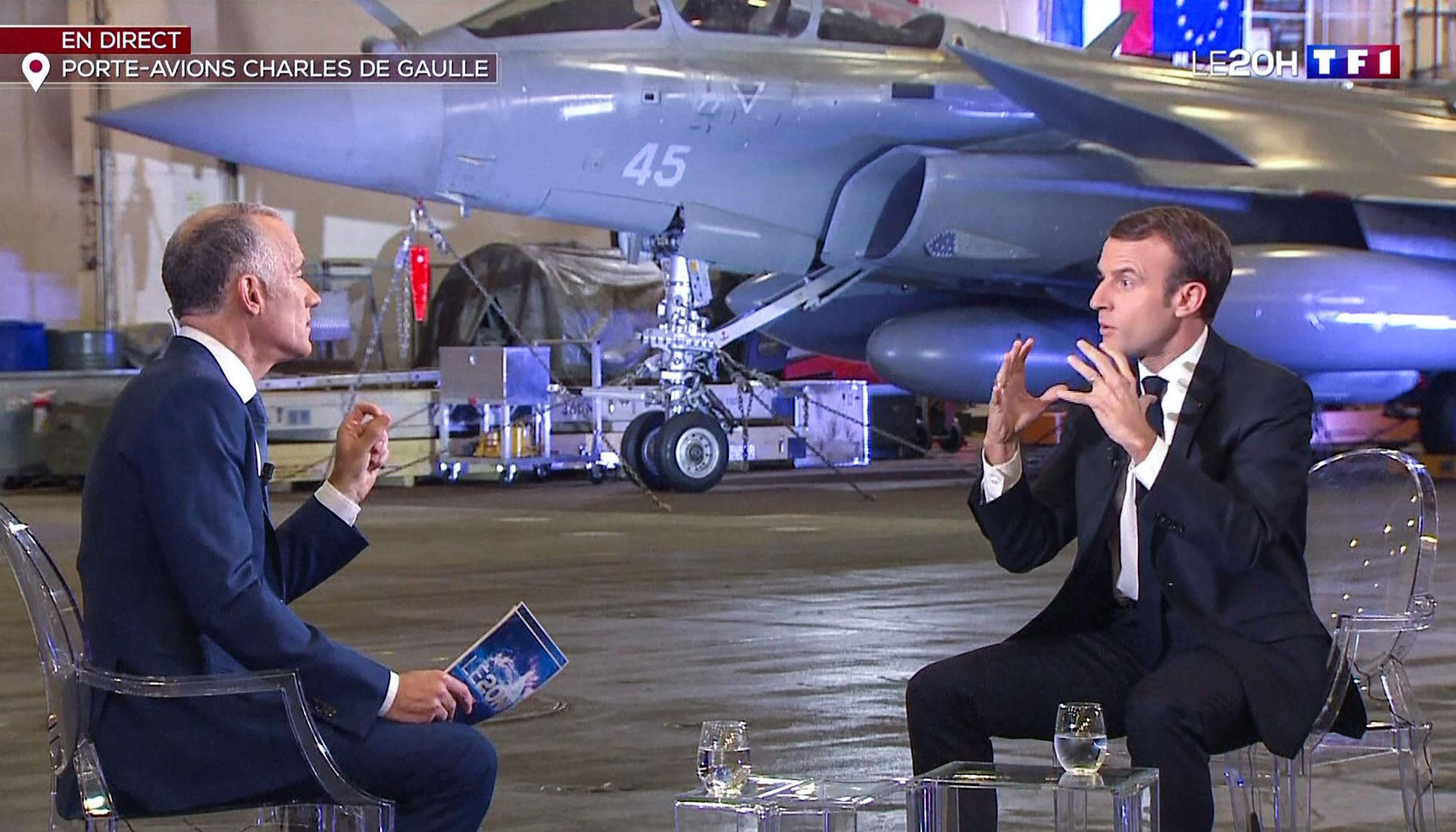 Macron le responde a Trump: 'Los aliados se deben respeto mutuo'