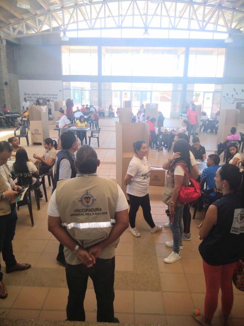 Jornada electoral atípica de Riohacha será vigilada por Procuraduría