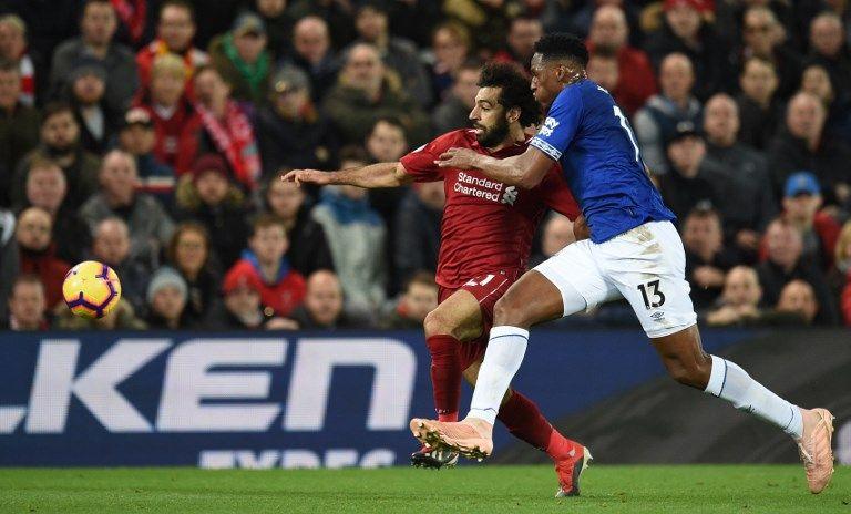 Mina, titular con el Everton: Liverpool ganó en el último minuto 1-0