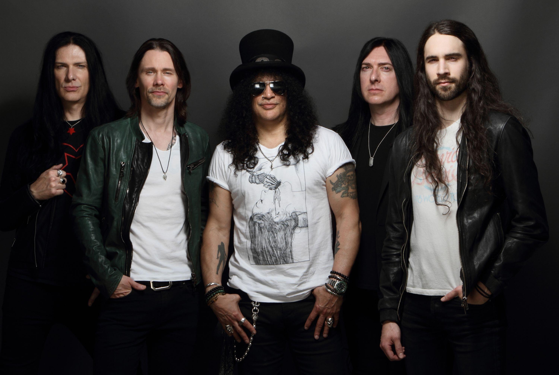 Slash, leyenda de la guitarra, regresa a Colombia