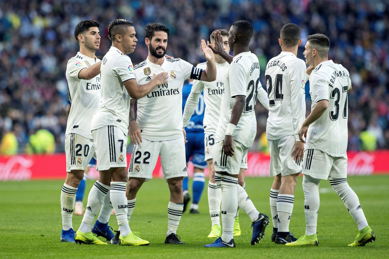 Real Madrid no tuvo problemas contra el Melilla: lo aplastó 6-1