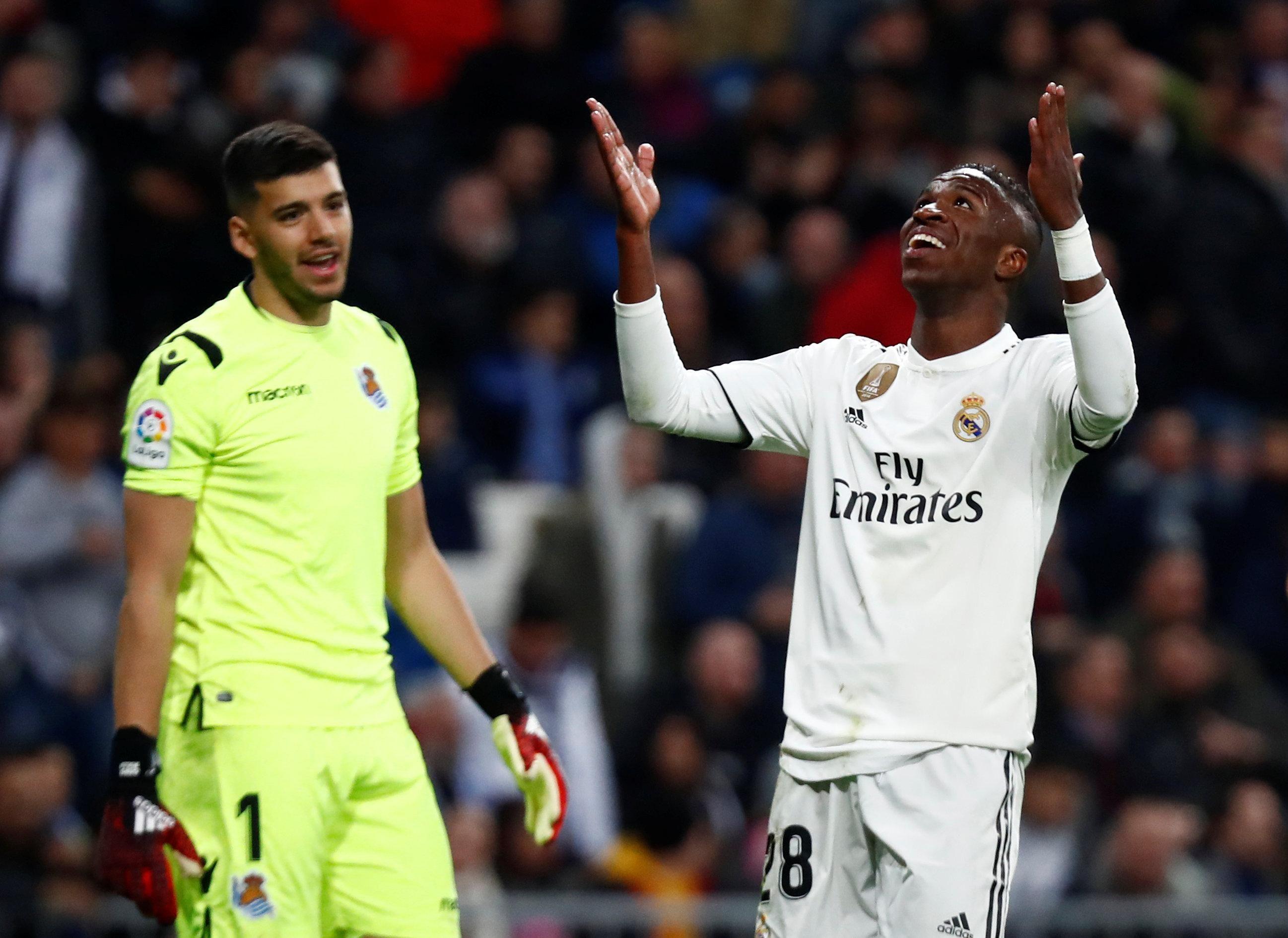 Vea los goles de la derrota del Real Madrid