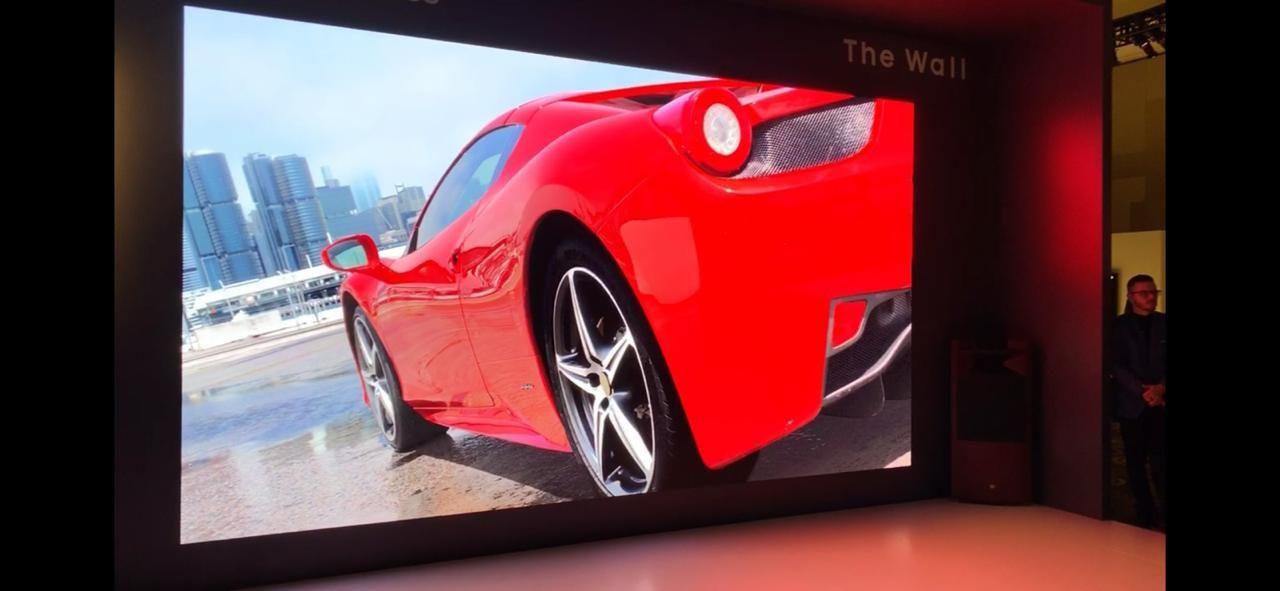 Samsung presentó en el CES 2019 un televisor de 219 pulgadas