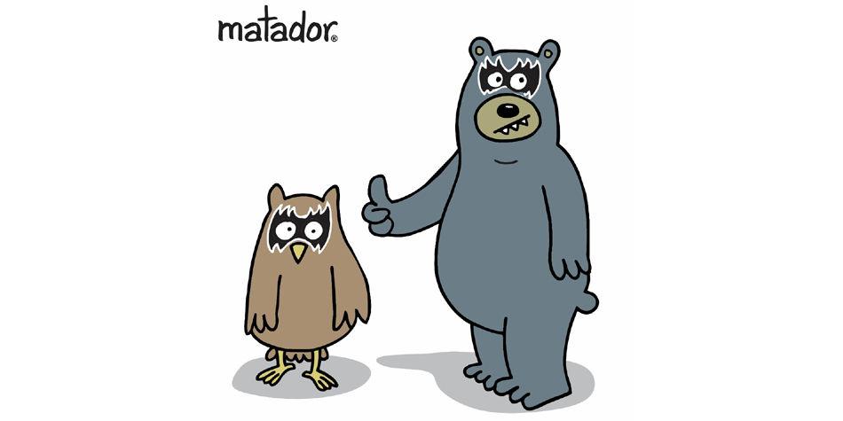 'Sim y Noa', lo nuevo de Enrique Rojo y el caricaturista Matador