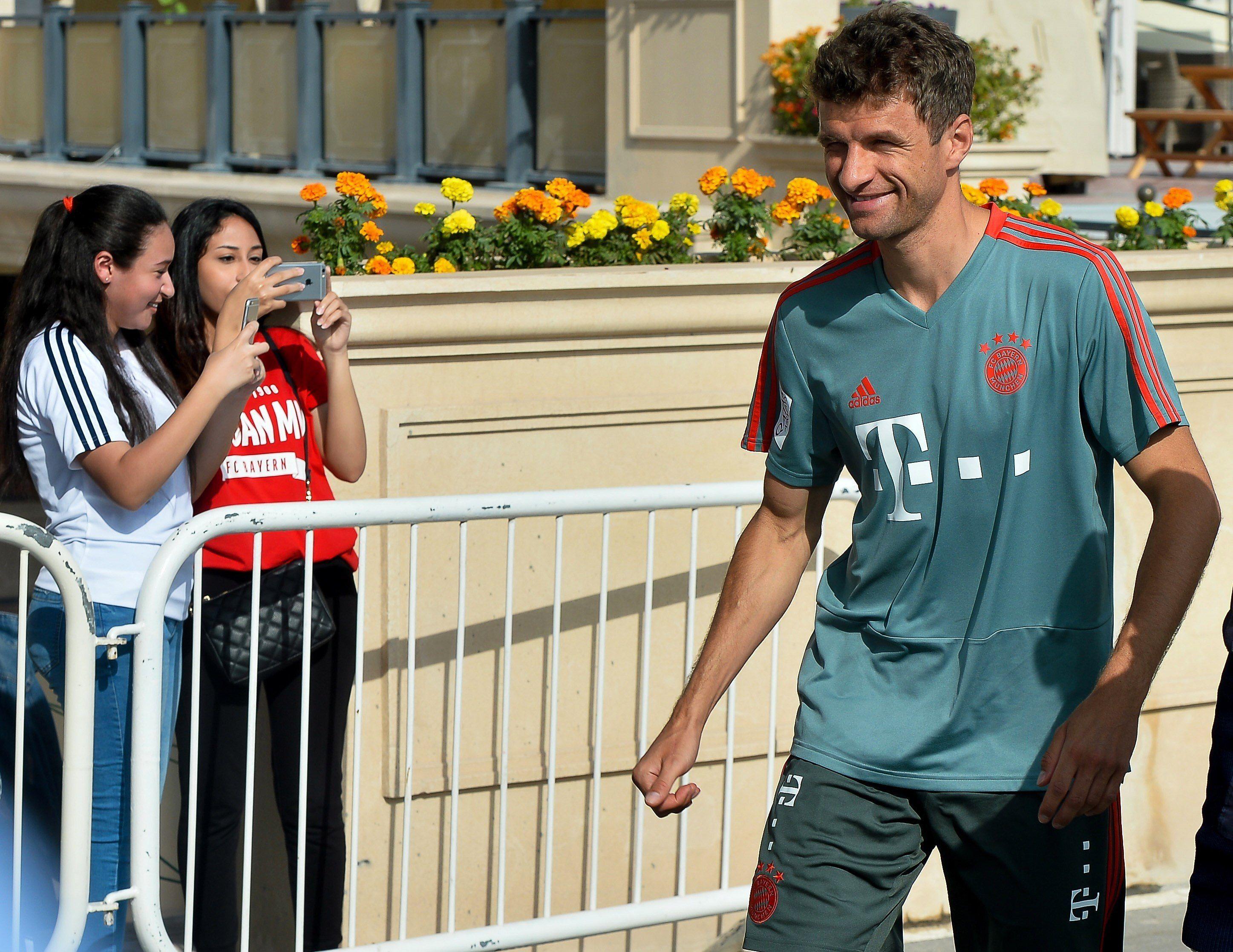 Thomas Müller fue suspendido y no jugará en octavos de la Champions