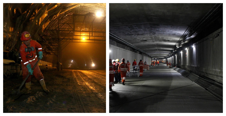 Inauguración del Túnel de Oriente en Antioquia y terminación de obras en el  túnel de la Línea - Otras Ciudades - Colombia - ELTIEMPO.COM