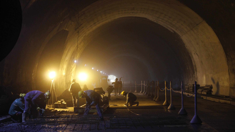 Por pandemia el Túnel de La Línea será entregado en septiembre ...